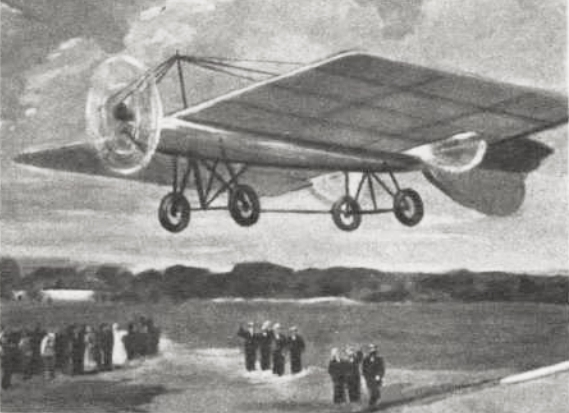 Mozhayskys airplane 1st flight 1882